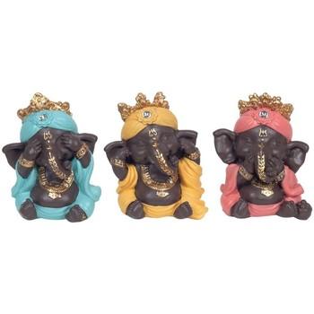 Maison & Déco Statuettes et figurines Signes Grimalt Ganesh Ne Vois-Je Pas Entendre Parler Pas Ensemble De 3U Multicolor