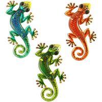 Maison & Déco Eclairages extérieurs Signes Grimalt Lézards Set 3 Unités Multicolor
