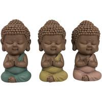Maison & Déco Statuettes et figurines Signes Grimalt Figure Moines Ensemble De 3 Unités Multicolor