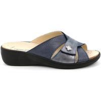 Chaussures Femme Mules Grunland CE0700 Bleu
