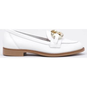 Chaussures Femme Mocassins Krack  Blanc