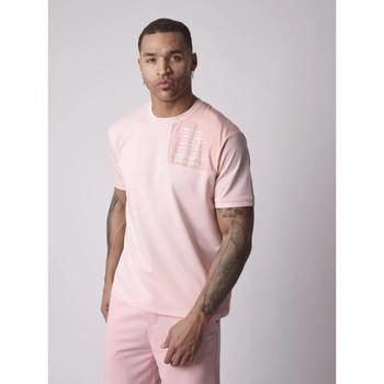 Vêtements Homme T-shirts manches courtes Project X Paris Tee Shirt Rose
