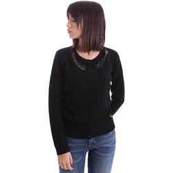 Vêtements Femme Gilets / Cardigans Animagemella 17AI060 Noir