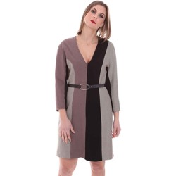 Vêtements Femme Robes courtes Nenette 26BB-ARAS Gris