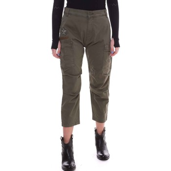 Vêtements Femme Pantalons Fornarina BE171L90G29231 Vert