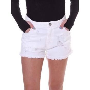 Vêtements Femme Shorts / Bermudas Fornarina BE172B92D877KM Blanc