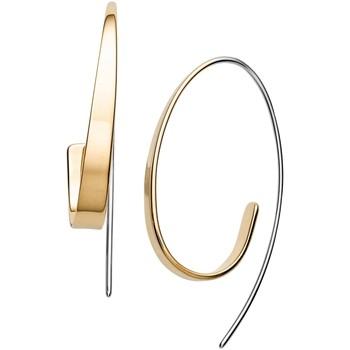 Montres & Bijoux Femme Boucles d'oreilles Skagen Boucles d'oreilles  Kariana dorées Jaune