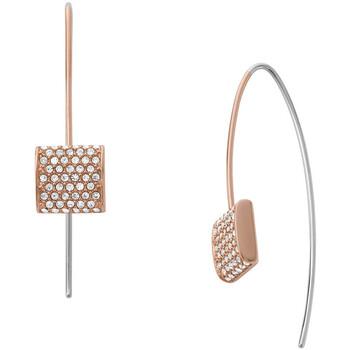 Montres & Bijoux Femme Boucles d'oreilles Skagen Boucles d'oreilles  Elin rosées Rose