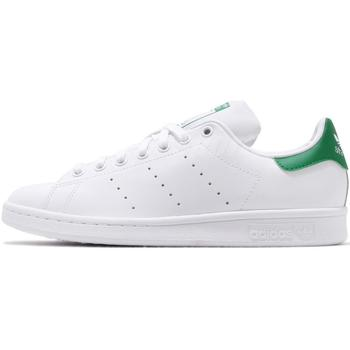 Chaussures Homme Baskets basses adidas Originals STAN SMITH Blanc Blanc Vert
