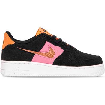 Chaussures Fille Baskets basses Nike AIR FORCE 1 LV8 NOIR ROSE
