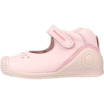Chaussures Fille Derbies & Richelieu Biomecanics 212100 Rose