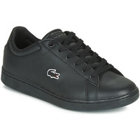Chaussures Fille Baskets basses Lacoste CARNABY noir noir