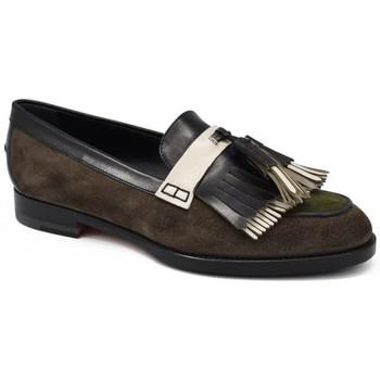 Chaussures Fille Mocassins Santoni  Vert