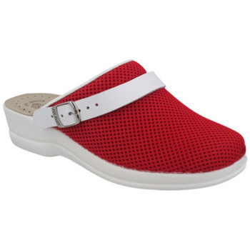 Chaussures Femme Sabots Fly Flot CIABATTA  - 63F75 REND ROUGE rouge