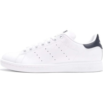 Chaussures Homme Baskets basses adidas Originals STAN SMITH Blanc Noir