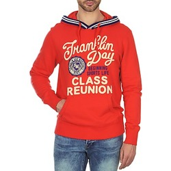 Vêtements Homme Sweats Franklin & Marshall GOSFORD Orange