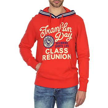Vêtements Homme Sweats Franklin & Marshall GOSFORD Rouge