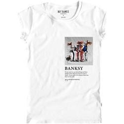 Vêtements Femme T-shirts manches courtes Ko Samui Tailors Art T-Shirt Bianco Blanc