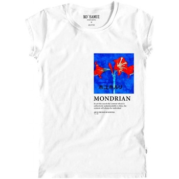 Vêtements Femme T-shirts & Polos Ko Samui Tailors Art T-Shirt Bianco Blanc
