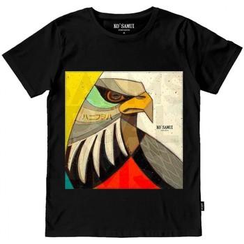 Vêtements Homme T-shirts manches courtes Ko Samui Tailors STITCH T-SHIRT Nero Noir
