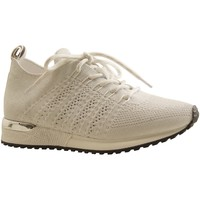 Chaussures Femme Baskets basses Reqin's INES CROCHET LAME BLANC