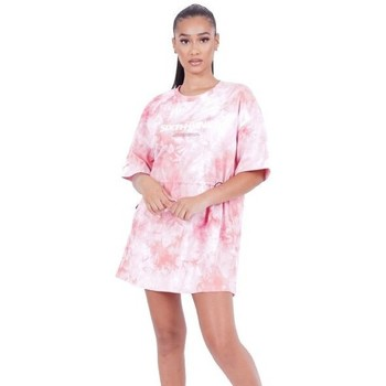 Vêtements Femme Robes courtes Sixth June Robe femme  Tie and dye rose