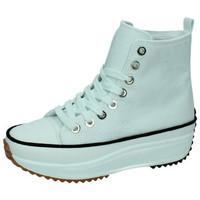 Chaussures Femme Baskets montantes Demax  Blanc