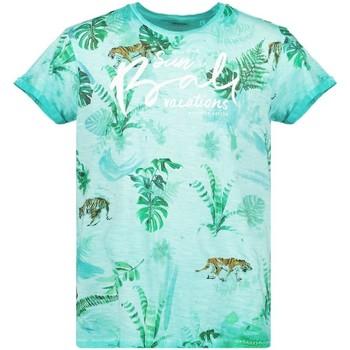 Vêtements Garçon T-shirts manches courtes Deeluxe T-Shirt BALI Lagoon