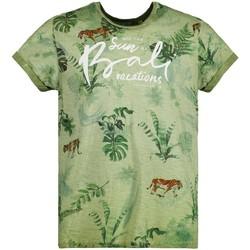 Vêtements Garçon T-shirts manches courtes Deeluxe T-Shirt BALI Olive