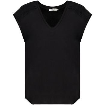 Vêtements Femme T-shirts manches courtes Deeluxe T-Shirt VAL Black