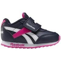 Chaussures Enfant Baskets basses Reebok Sport Royal CL Jogger Blanc, Noir, Rose