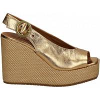 Chaussures Femme Sandales et Nu-pieds Carmens Padova VEGA BUCK LUX oro