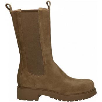 Chaussures Femme Bottes ville Elena Iachi VELOUR sand