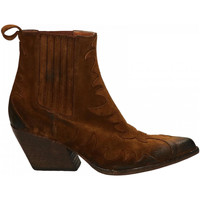 Chaussures Femme Bottines Elena Iachi WASH VELOUR safari