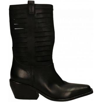 Chaussures Femme Bottes ville Elena Iachi WASH BOSTON nero