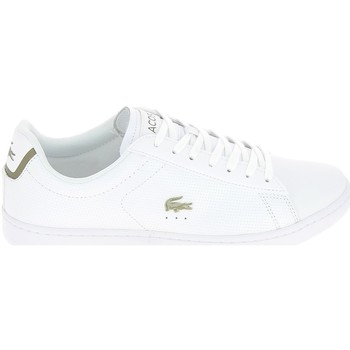 Chaussures Homme Baskets basses Lacoste Carnaby Blanc Blanc Blanc