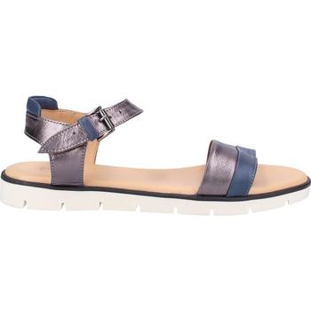 Chaussures Femme Sandales et Nu-pieds Darkwood Sandales Blau/Silber