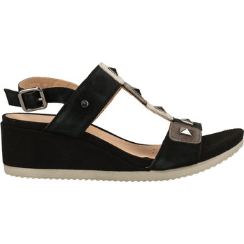Chaussures Femme Sandales et Nu-pieds Geox Sandales Schwarz/Grau