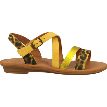 Chaussures Femme Sandales et Nu-pieds Paul Green Sandales Gelb