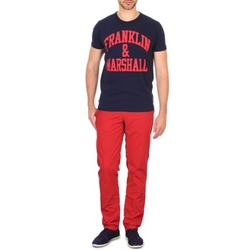 Vêtements Homme Chinos / Carrots Franklin & Marshall GLADSTONE Rouge