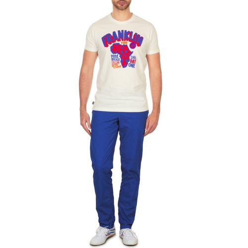Vêtements Homme Chinos / Carrots Franklin & Marshall GLADSTONE Bleu