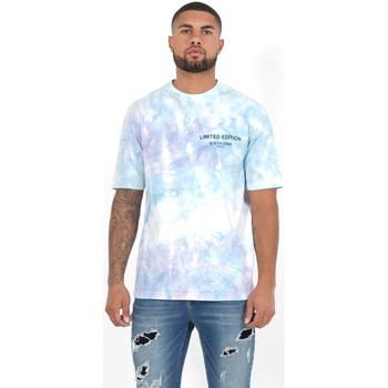Vêtements Homme Polos manches longues Sixth June T-shirt  Custom Tie Dye noir
