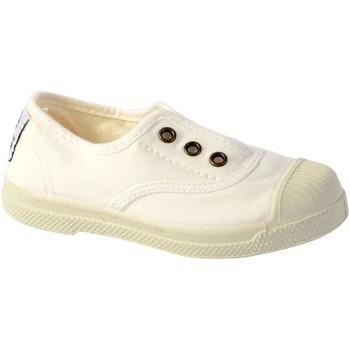 Chaussures Enfant Tennis Natural World Tennis  Ingles Elastico Enzimatico 470E Blanco