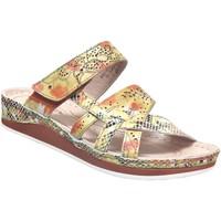 Chaussures Femme Mules Laura Vita Brcuelo 0521 Jaune cuir