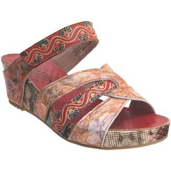 Chaussures Femme Mules Laura Vita Facdiao 14 Rouge multi