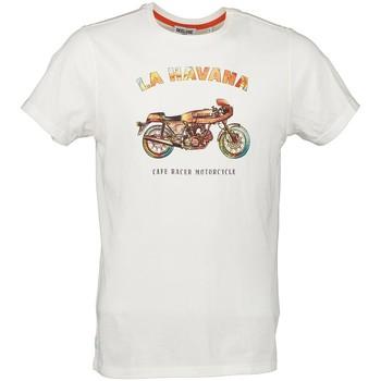 Vêtements Homme T-shirts manches courtes Deeluxe T-Shirt JENGO Natural