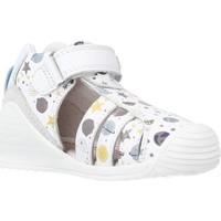 Chaussures Garçon Sandales et Nu-pieds Biomecanics 212142 Blanc