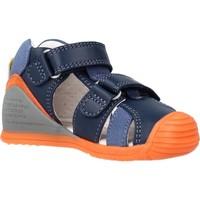 Chaussures Garçon Sandales et Nu-pieds Biomecanics 212143 Bleu