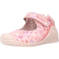Chaussures Fille Baskets basses Biomecanics 212102 Rose