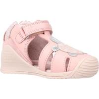Chaussures Fille Sandales et Nu-pieds Biomecanics 212109 Rose